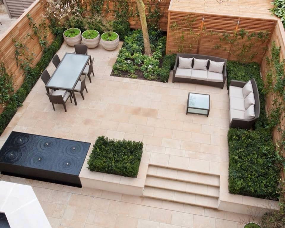 30 inspiring courtyard designs livin spaces for Courtyard designs for small spaces