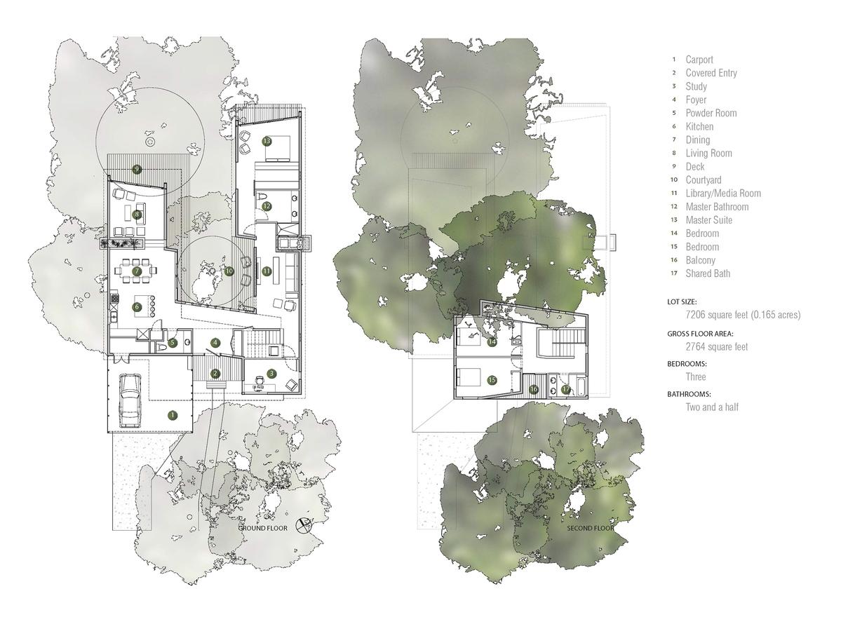 u-shaped-home-trees-passive-light-shade-23