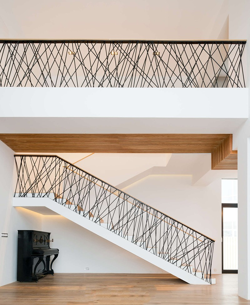 Interesting Wall Railings Designs Cheap Modern Handrail Designs That Make  The With Modern Handrail.