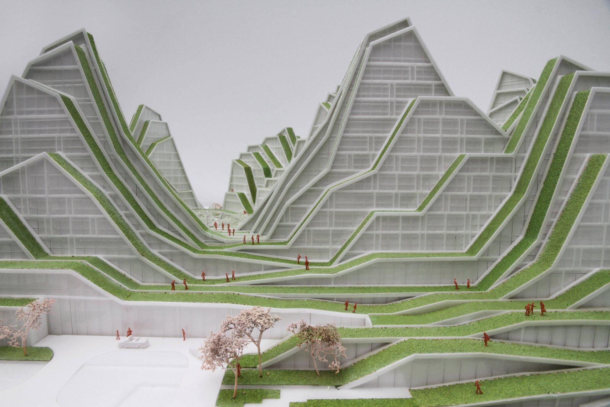 Man Made Mountains Hualien Residences By Bjarke Ingels