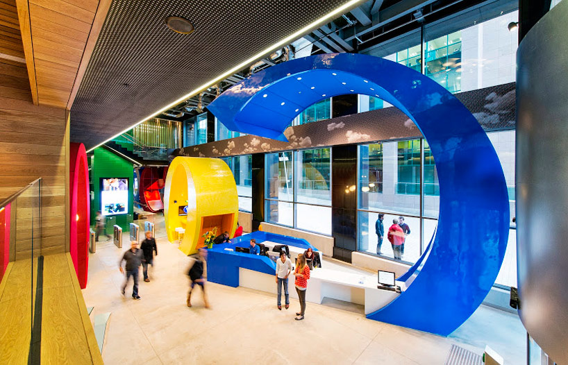 WORKSPACE 2.0: A gallery of Google's global offices