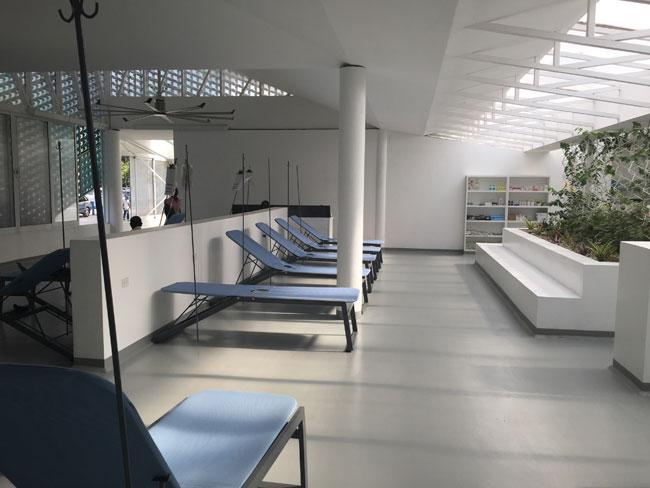 Gheskio Cholera Treatment Center interior 8