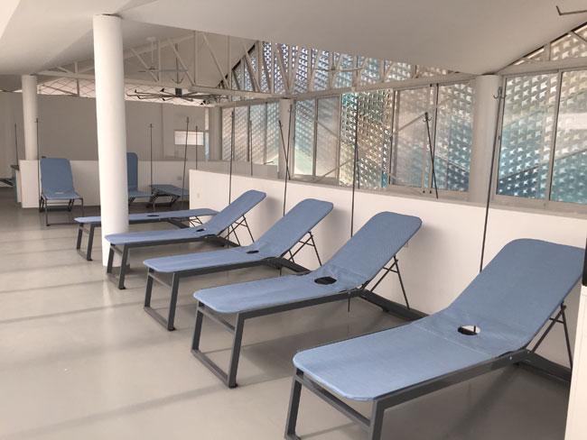 Gheskio Cholera Treatment Center interior 9