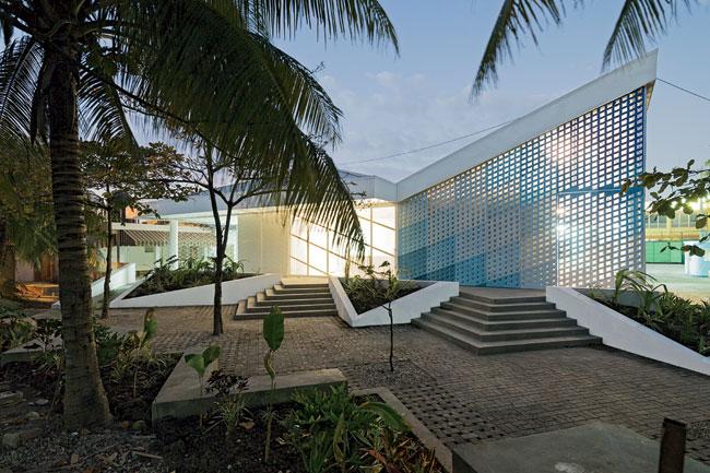 Gheskio Cholera Treatment Center exterior finished
