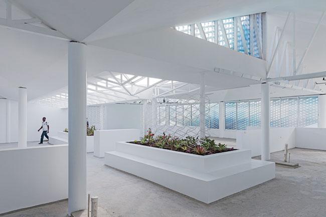 Gheskio Cholera Treatment Center interior 3