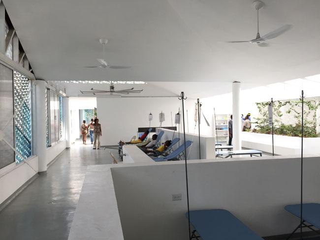 Gheskio Cholera Treatment Center interior 7