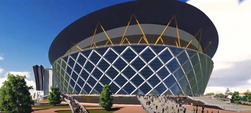 FAITH THEATRE PROJECT(100,000 Seat Stadium-Like Sanctuary) Living Faith Church Worldwide 2015 2