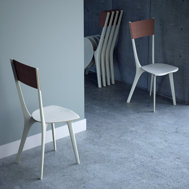 Palfrey Chair By Tierney Haines A Folding Beauty Livin