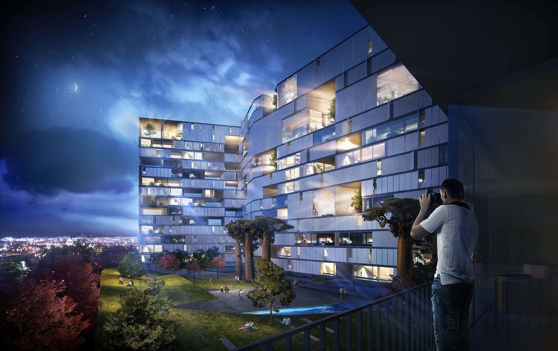 Villas In The Sky The Proposed Glover 57 Apartments In
