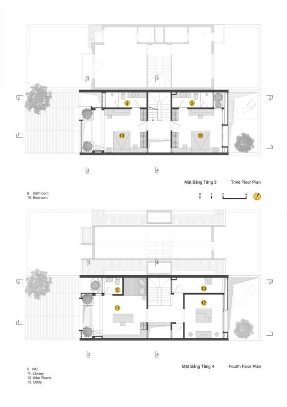 cocoon floor plan 3 and 4