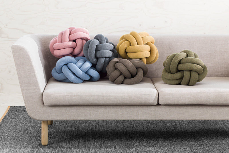 knot cushions