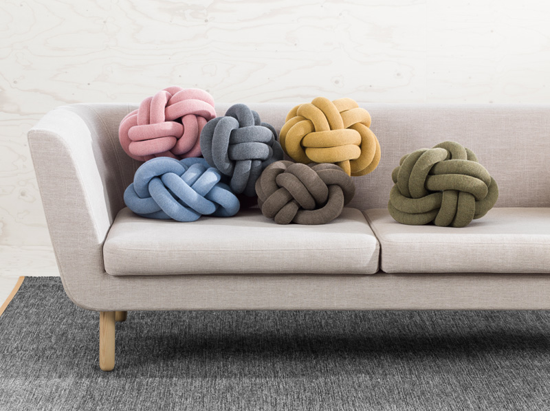 knot cushions