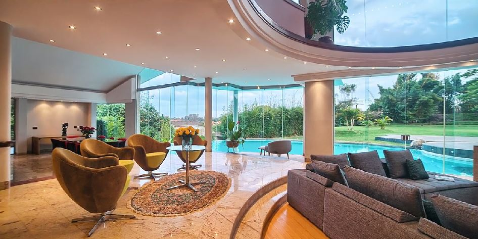 interior of luxury homes on the high end kenya s most expensive house in magnolia 18977