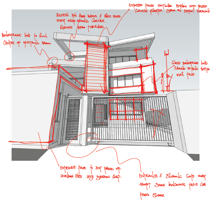 scissor house sketch 2