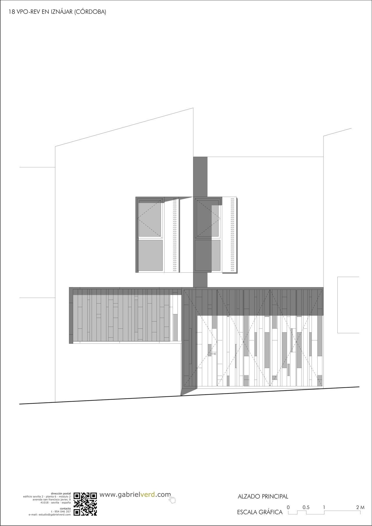 CORDOVA SOCIAL HOUSING ELEVATION