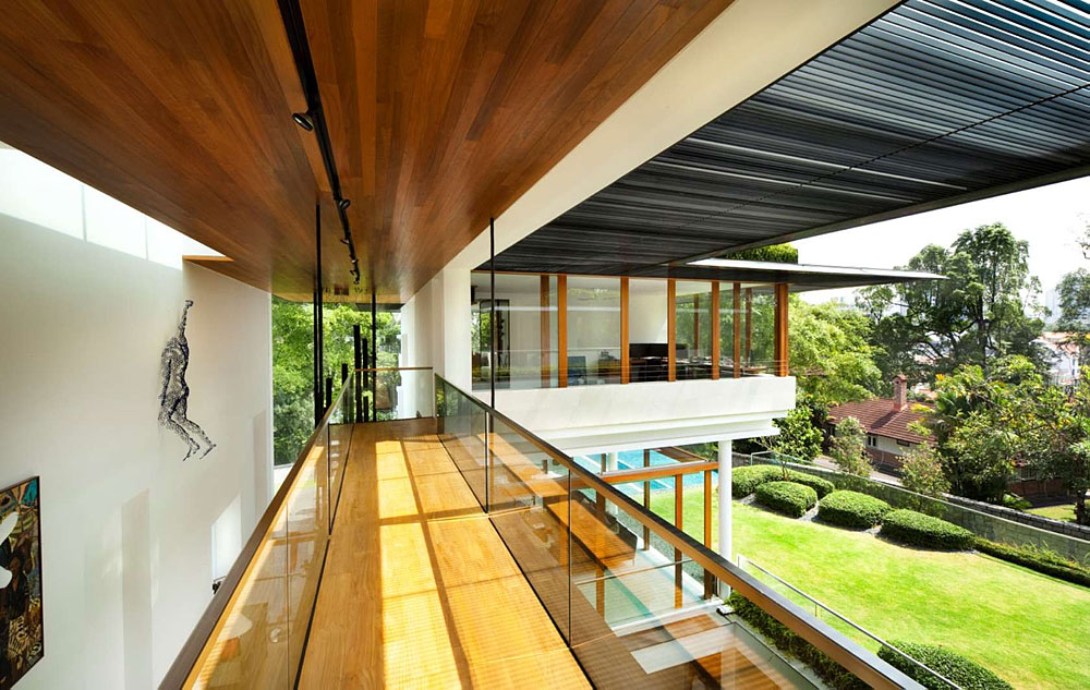 The Tropical Dalvey Road House In Singapore By Guz