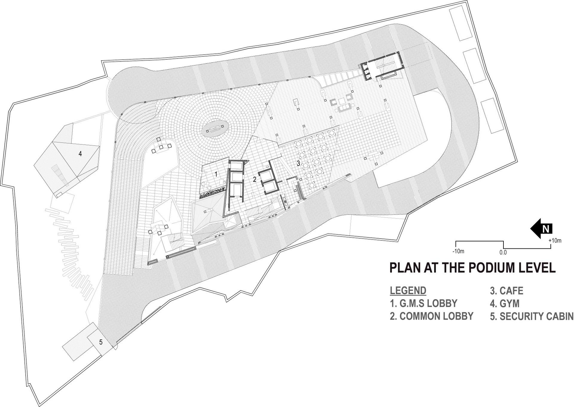 GMS Grande Palladium ground floor plan