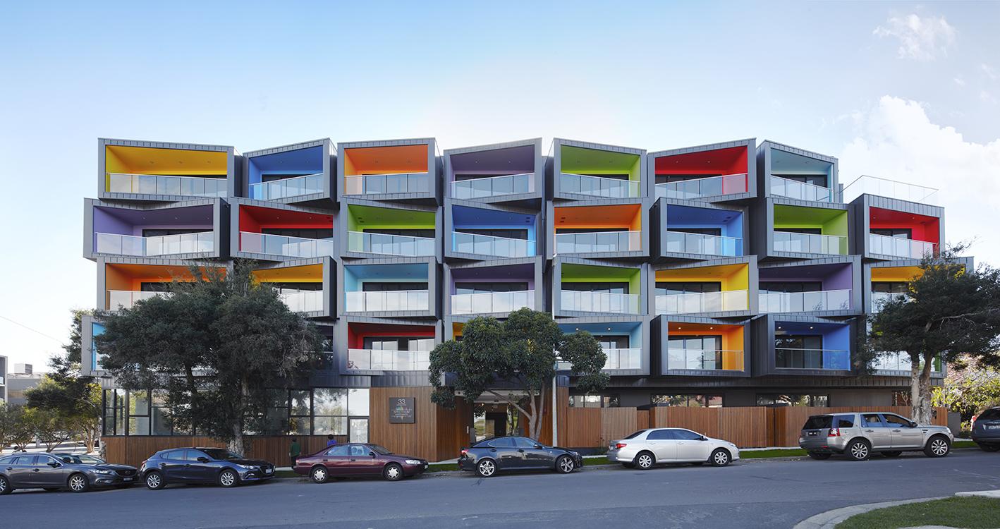 Spectrum apartments in australia by kavellaris urban for Apartment urban design