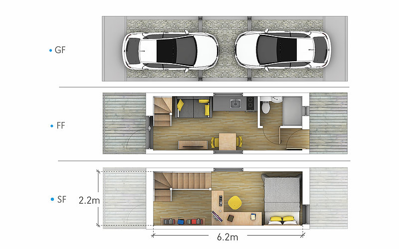 Zedpod Affordable Housing Concept By Bill Dunster