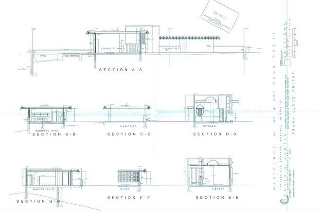 Walkthrough a virtual tour of an unrealised frank lloyd for House plans with virtual walk through