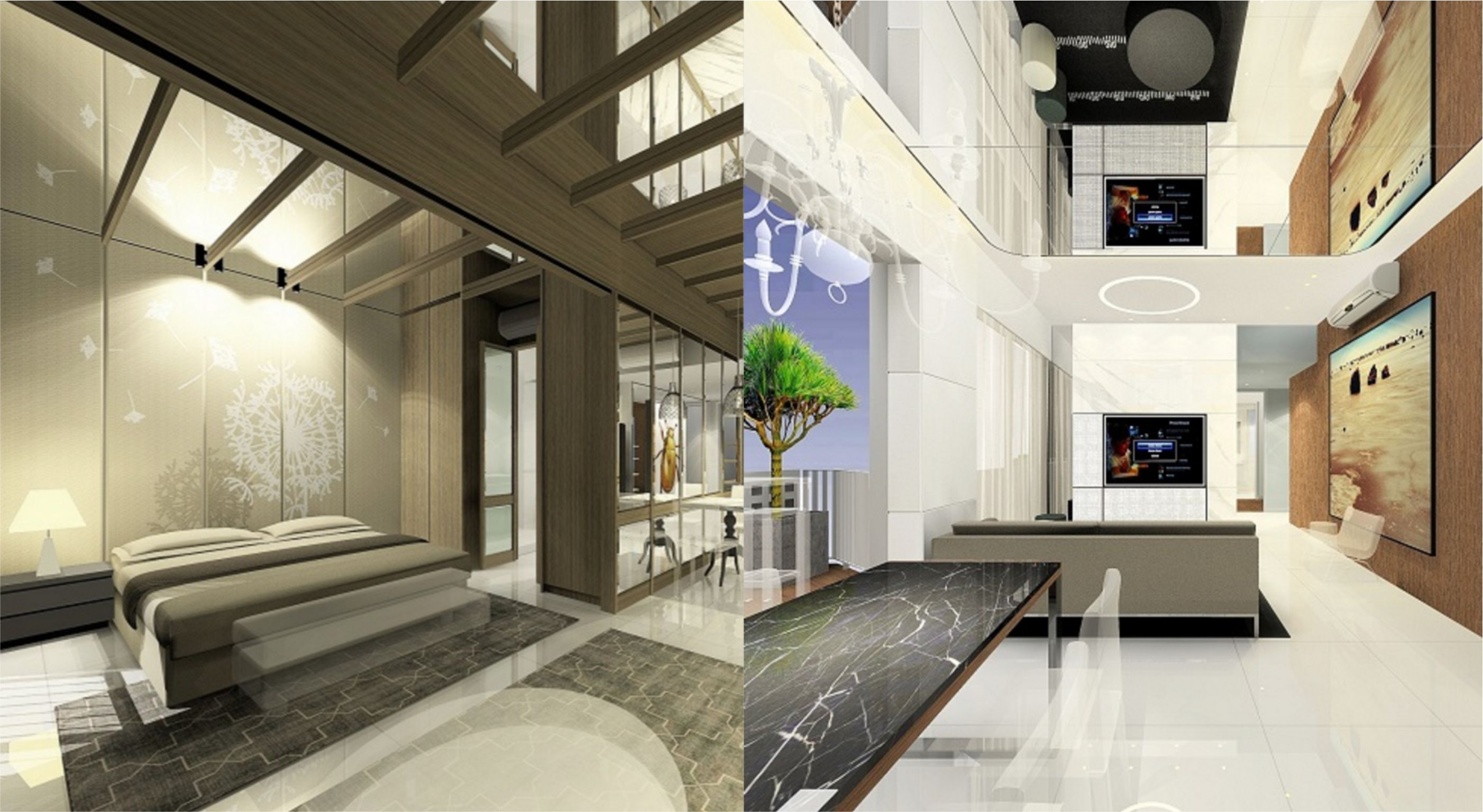 skyhabitat-interior renderings
