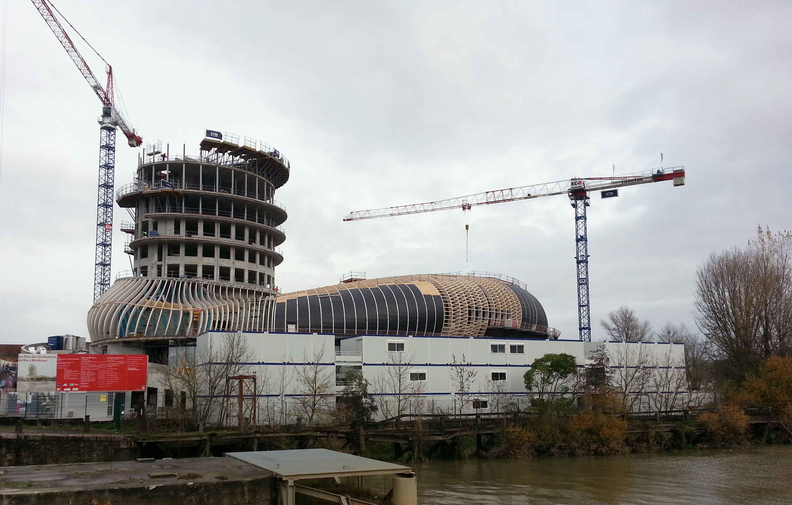 cite du vin construction 3a