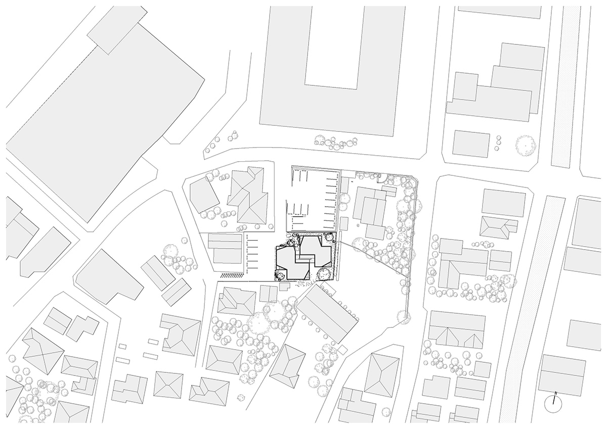 fukuoka apartment complex plan 1