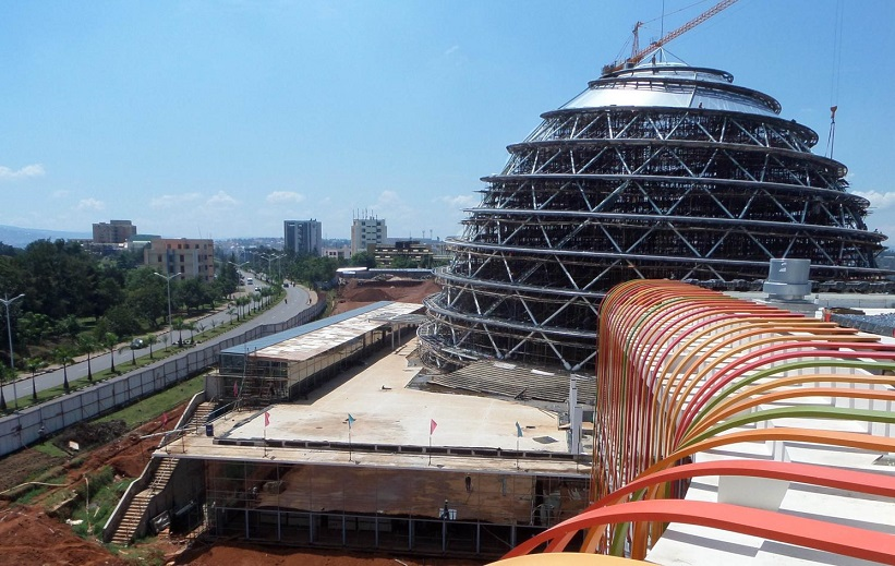 kigali convention center under construction