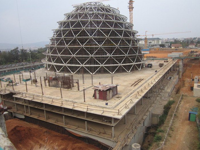 kigali convention- dome c
