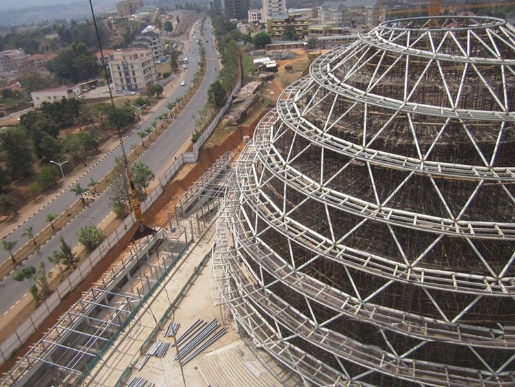 kigali convention- dome d