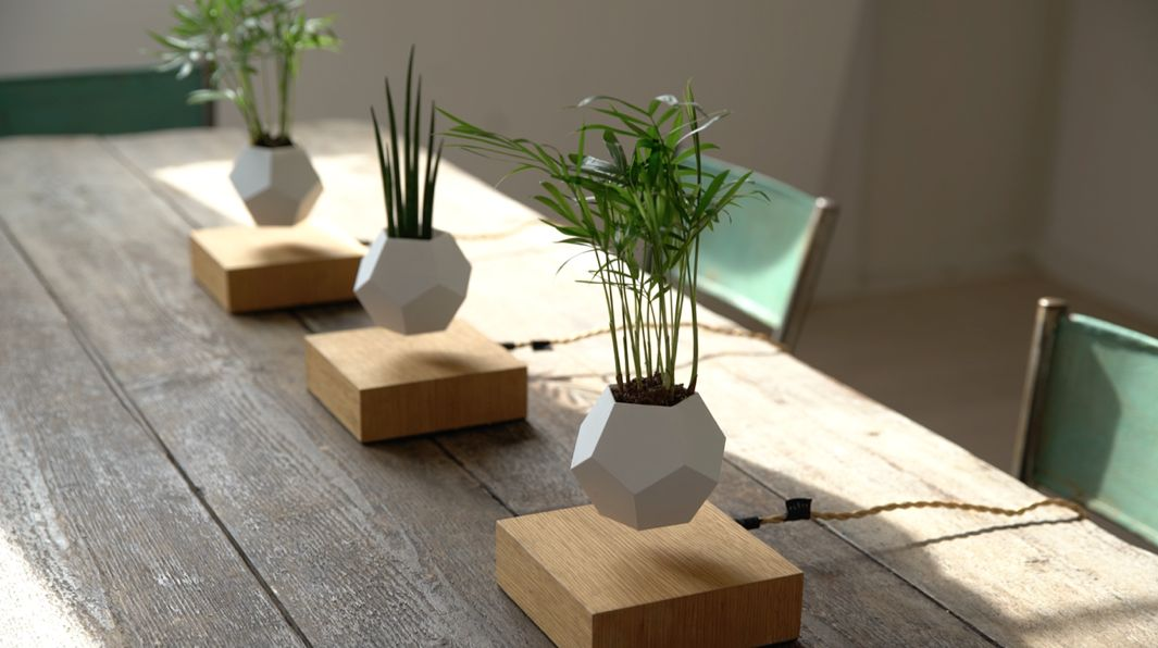 AND LYFE: THE FLOATING LIGHTBULB AND PLANTER DESIGNED BY SIMON MORRIS ...
