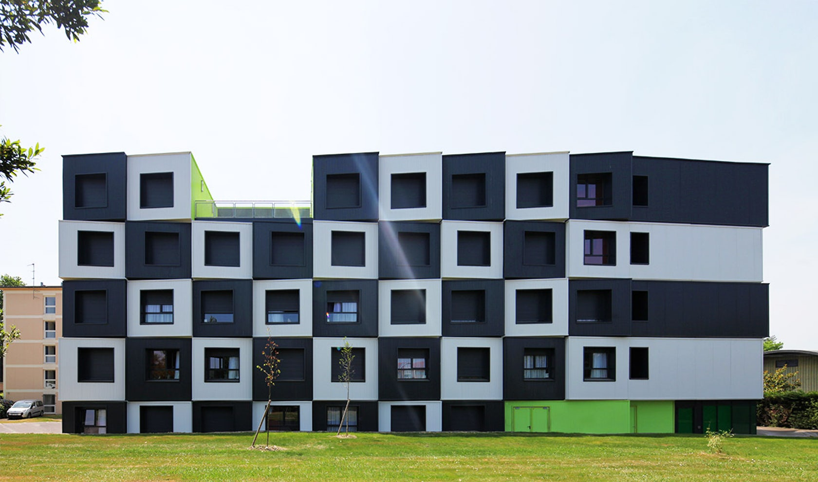 The Modular Checkerboard A Student Housing Development In
