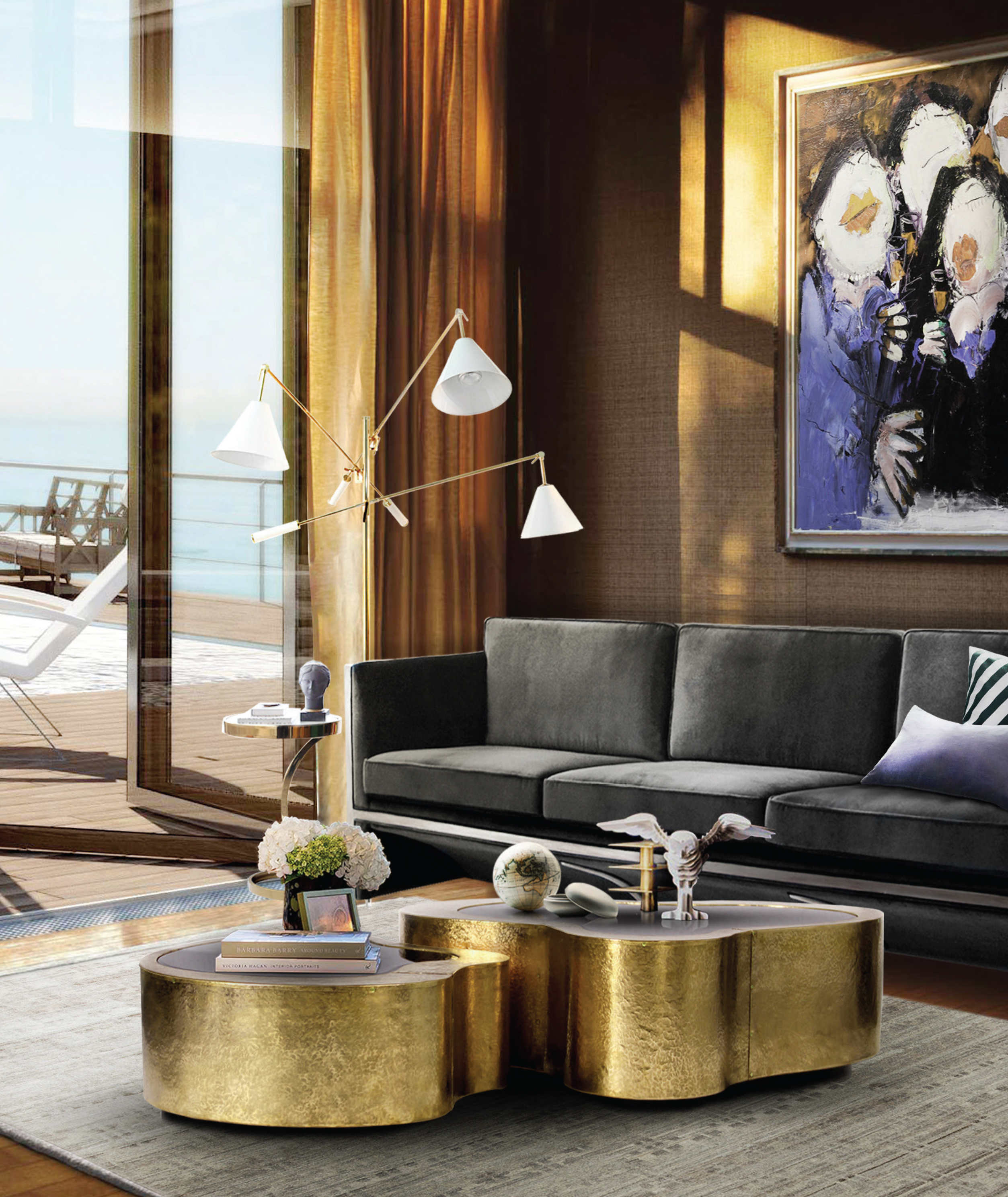 Living Room Decor Inspiration: DESIGN INSPIRATION FOR THE LUXURIOUS MODERN-CLASSIC LIVING