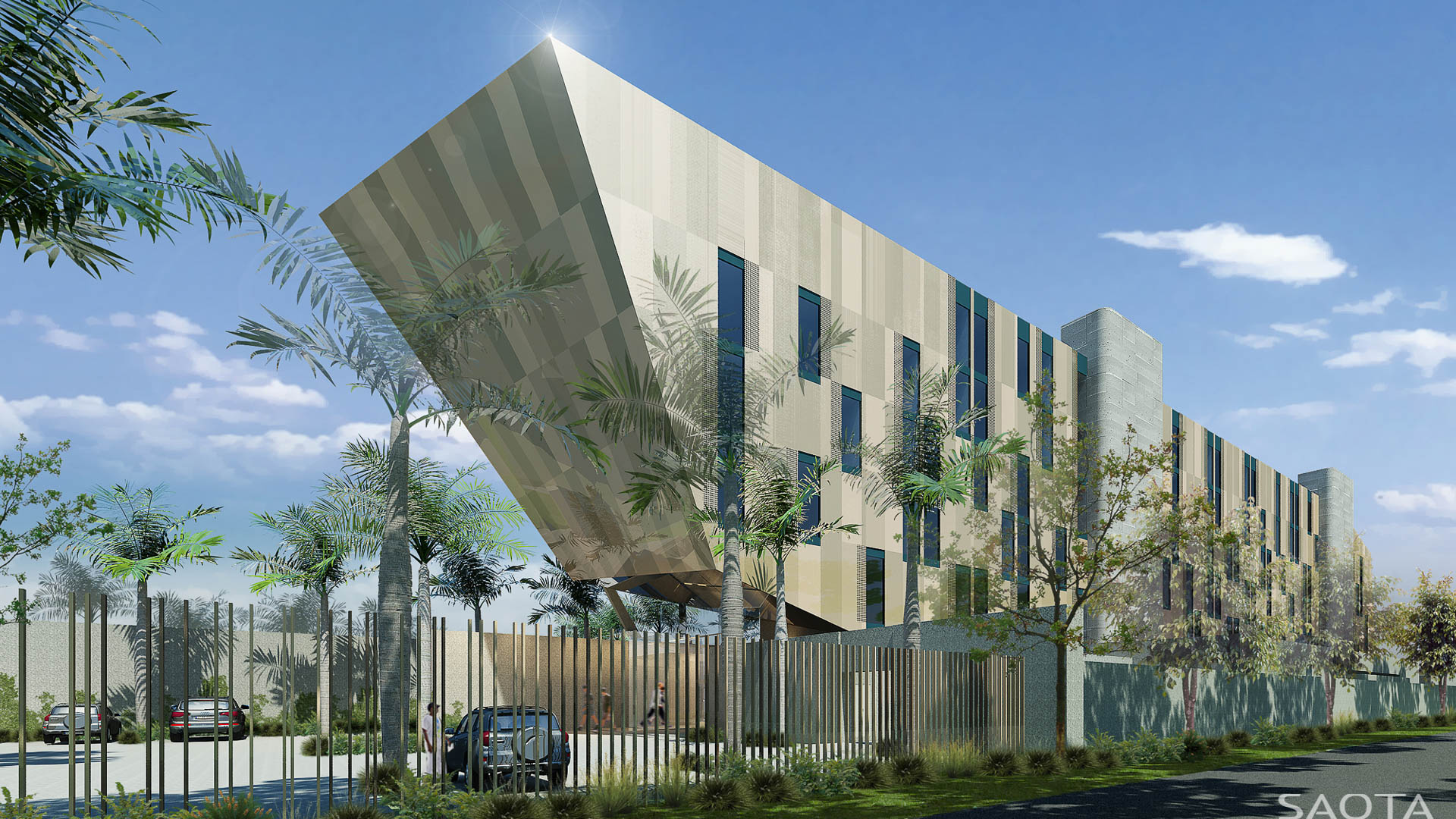 Noom hotel conakry in guinea by saota livin spaces for La architecte
