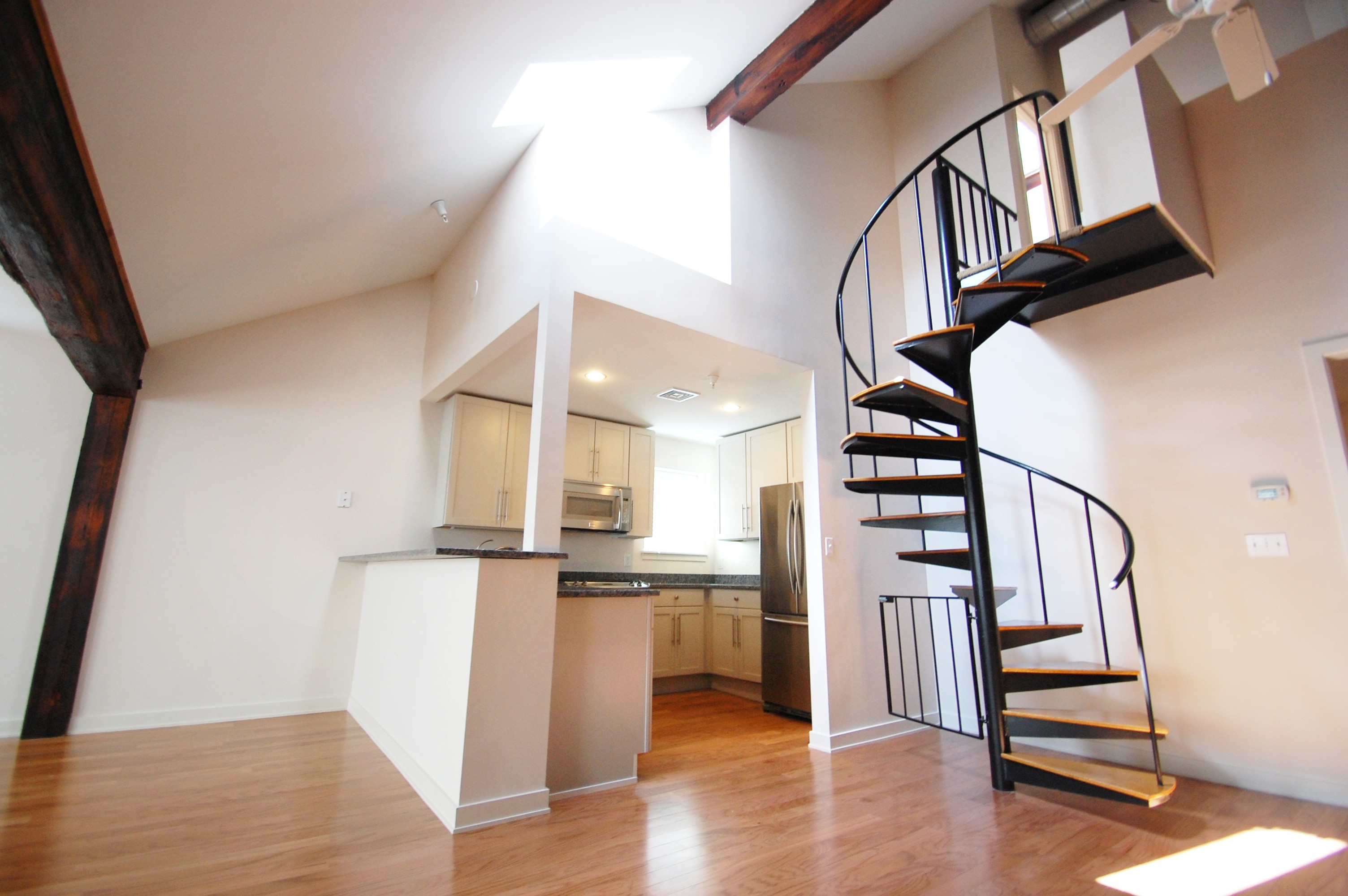 STAIRCASES AND SPACES: SAVING SPACE AND INCREASING FUNCTIONALITY