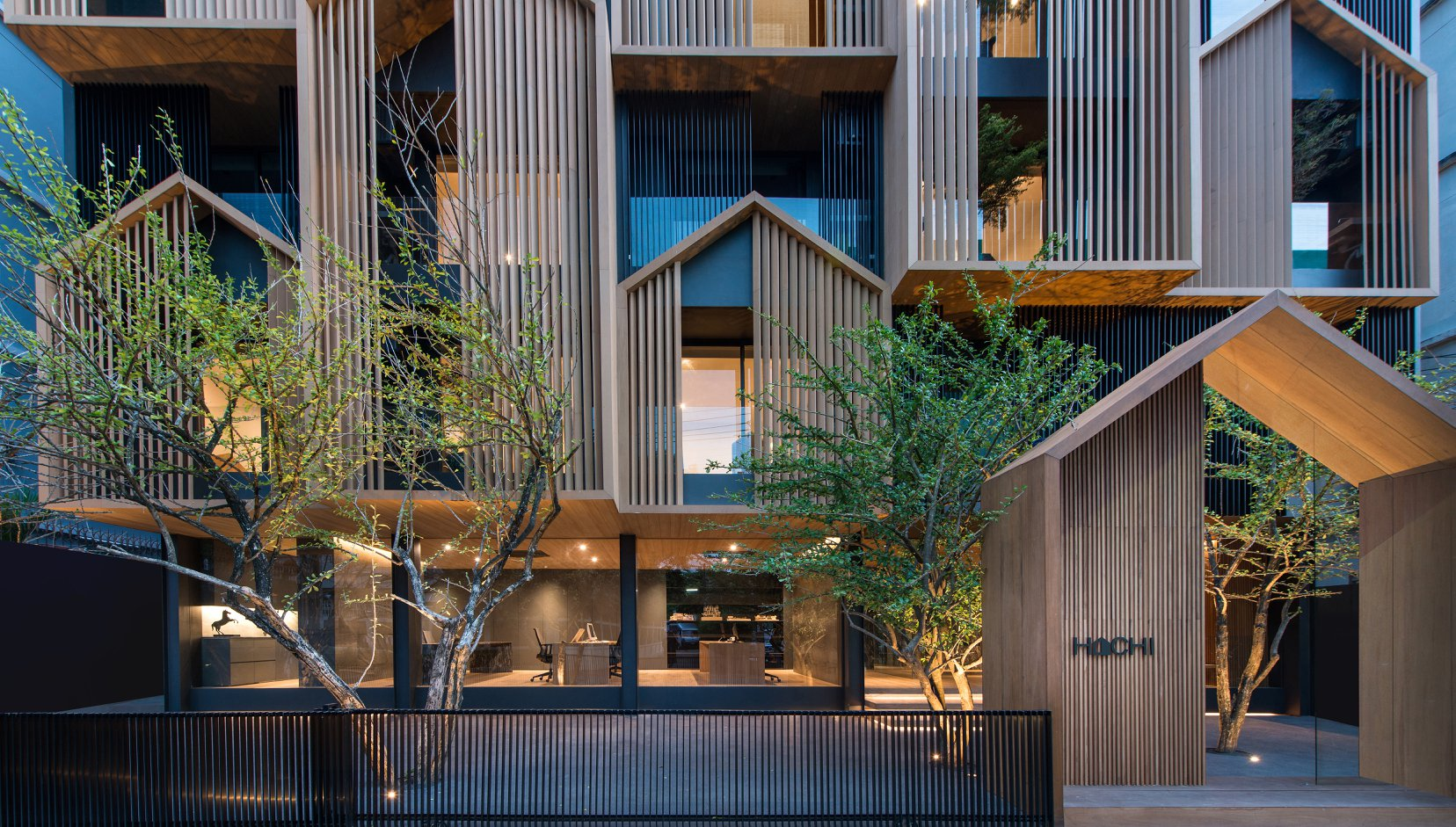 HACHI Apartment Building in Bangkok by Octane Architecture ...