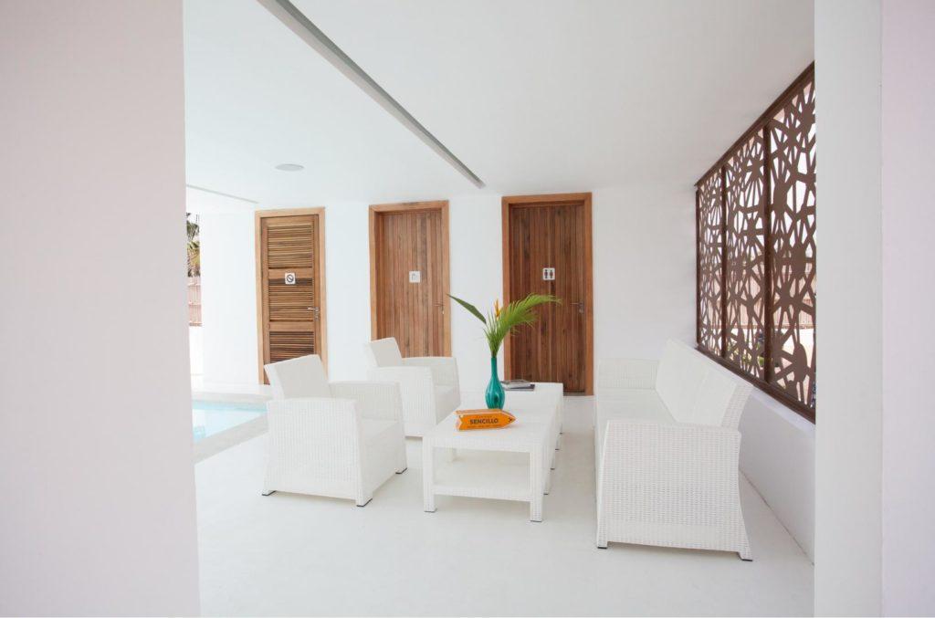 Sencillo Beach House in Ilashe, Lagos by cmD+A features a ...