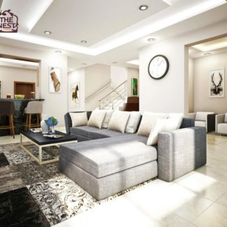 thrive 4 bedroom plus 1bq living room