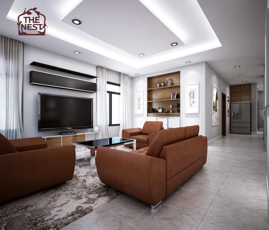 A Detailed Look At The Interior Design Scheme 2 For Nest Homes Lekki Abijo 4 Bedroom 1b Q Semi Detached Home
