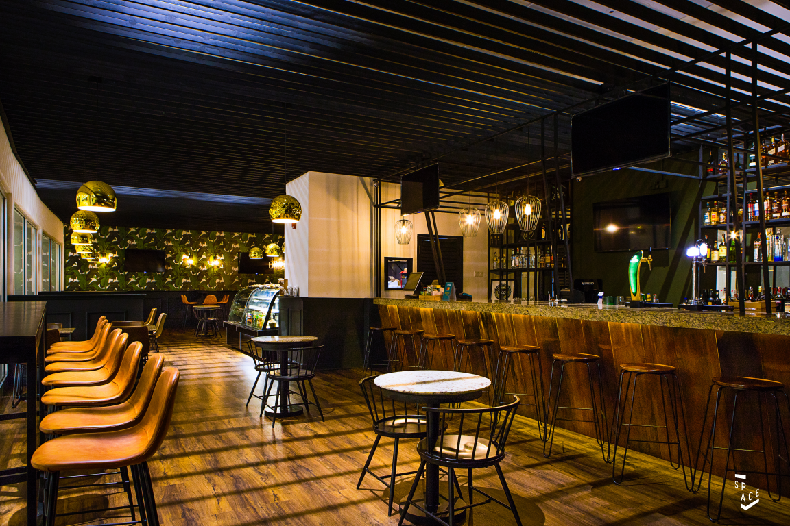Bubra Spot In Ghana By Space Accra Blends Classic Decor With Modern Design